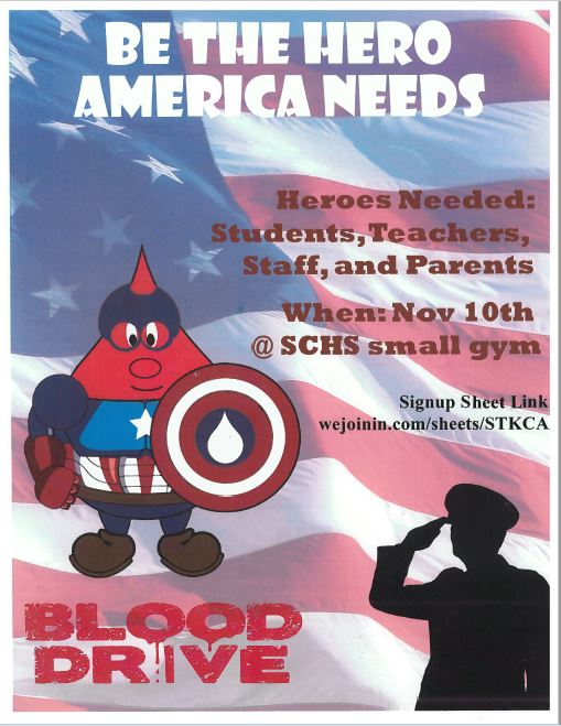 blood drive flyer 2017